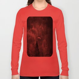 It's Lonely Out Here in Winter Long Sleeve T-shirt