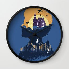 The Many Faces of Cinema: Miss Peregrine Home for Peculiar Children Wall Clock