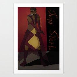 Juno Steel Art Print