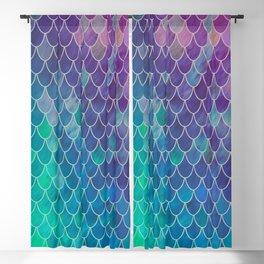 mermaid scales #2 Blackout Curtain