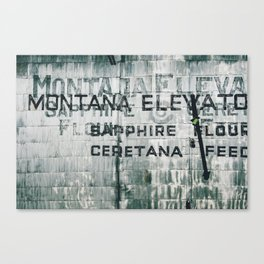 Ghosts of Montana Canvas Print
