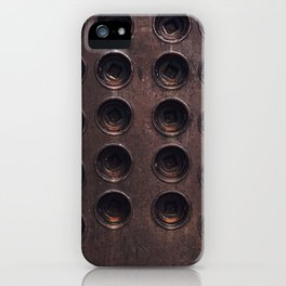 Holes iPhone Case