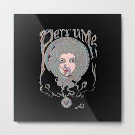 Psychedelic Perfume Metal Print