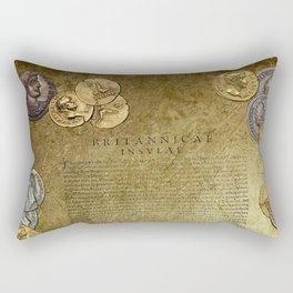 Ancient Latin Report re Roman British Isles Rectangular Pillow