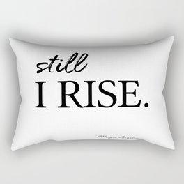 I'll rise #minimalism 3 Rectangular Pillow