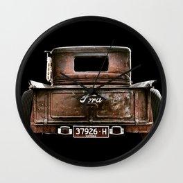 Ford Rust Wall Clock