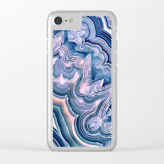 Agate ornaments Clear iPhone Case