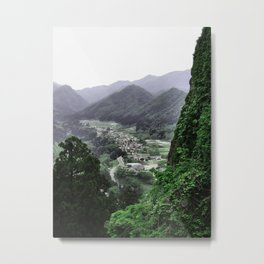 The Valley (Japan) Metal Print