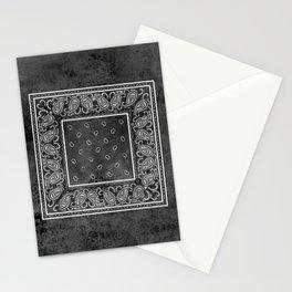 Black Denim Bandana Stationery Cards