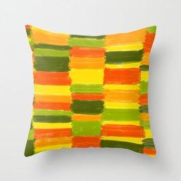 Fresh Colours No 1 Throw Pillow