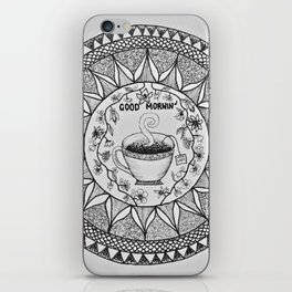 Wake up with a Cuppa iPhone Skin