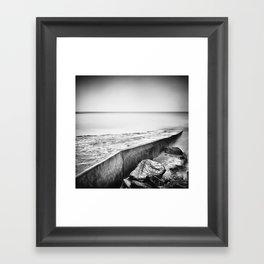 Slip away Framed Art Print