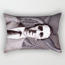 Shuddering At The Nameless Things Rectangular Pillow
