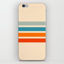 Tadakatsu - Classic Retro Stripes iPhone Skin