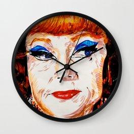 Agnes Moorehead Wall Clock