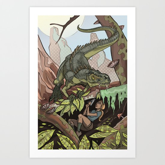 The Smell of Fear Art Print