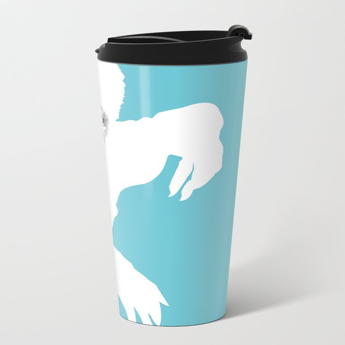 hombrelobo Metal Travel Mug
