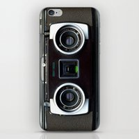 camera iPhone & iPod Skins featuring  Camera  by Bright Enough💡