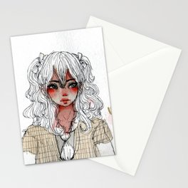 Ugh Girl Stationery Cards