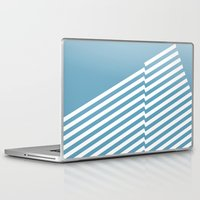 bands Laptop & iPad Skins featuring Blue Bands R. by blacknote