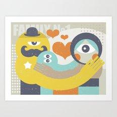 Family. Art Print