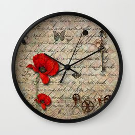 The Letter Wall Clock