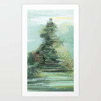 steps of life Art Print