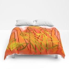 Crystals - Orange Comforters