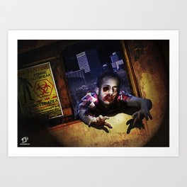 Z Attack! Art Print