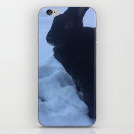 snow bunny rex iPhone Skin