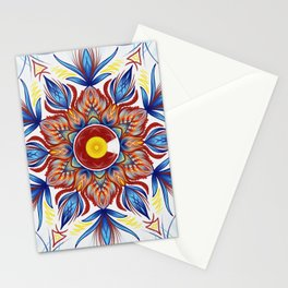 Colorado Mandala  Stationery Cards