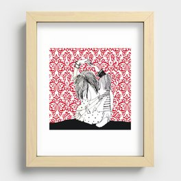 It takes two to tango! Recessed Framed Print