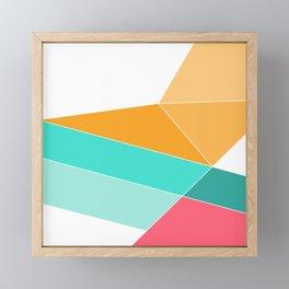 Entropy Slide Framed Mini Art Print