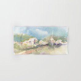 Ghost Town Memories Hand & Bath Towel