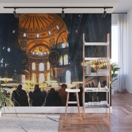 The Apse Of Hagia Sofia Wall Mural