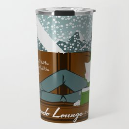 The Colorado Lounge at the Overlook Hotel Travel Mug