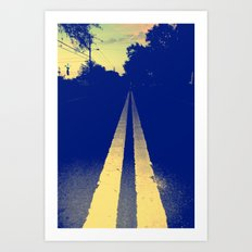 The Road Ahead Art Print