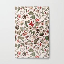A Cozy Christmas Morning Metal Print