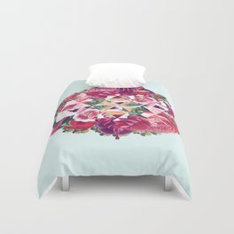 Flowers for Murders Duvet Cover
