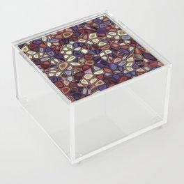 Fractal Gems 01 - Fall Vibrant Acrylic Box