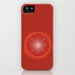 MULADHARA Boho mandala iPhone Case