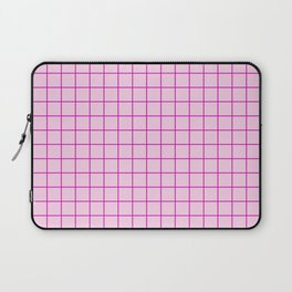 Grid Pattern - pink and magenta - more colors Laptop Sleeve