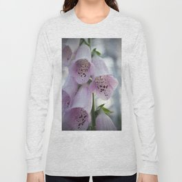 Purple Foxgloves Long Sleeve T-shirt