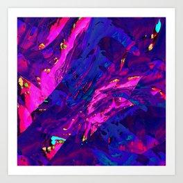 Shimmer Waves Art Print