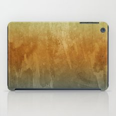 Earthy Water Color Abstract iPad Case