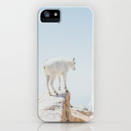 Mountain Goats iPhone Case