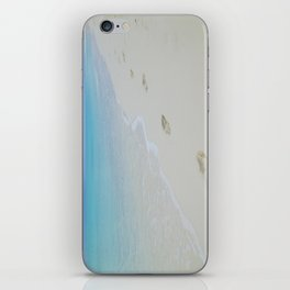 Footprints in the Sand iPhone Skin
