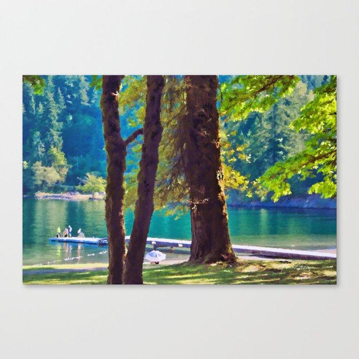 Cultas Lake Provincial Park Canvas Print