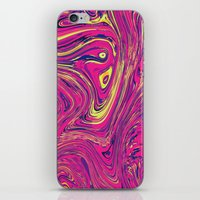psychedelic iPhone & iPod Skins featuring Psychedelic by Idle Amusement