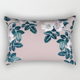 Wild Bee Blackberry Rectangular Pillow